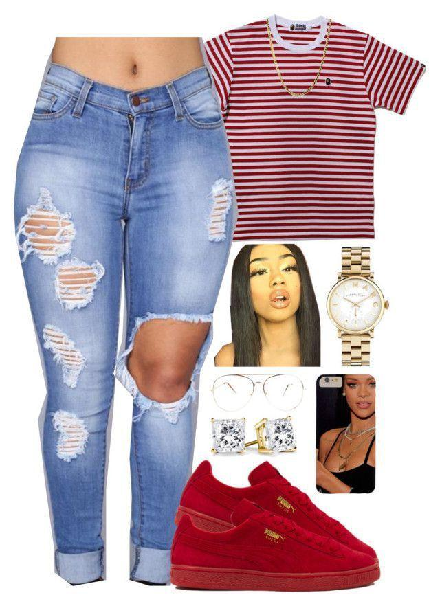 Outfits For School Baddie Casual Wear Designer Clothing On Stylevore
