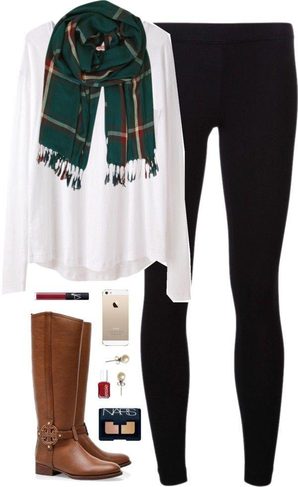 Leggings Outfits, Singlet White
