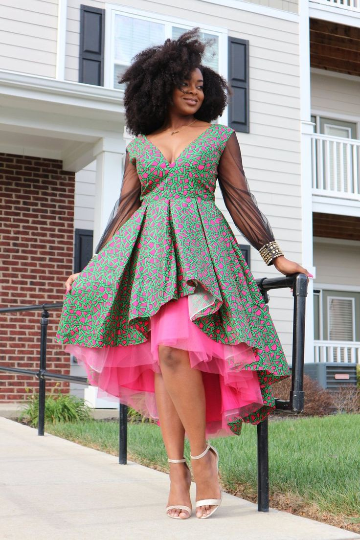 African dresses 2019 short