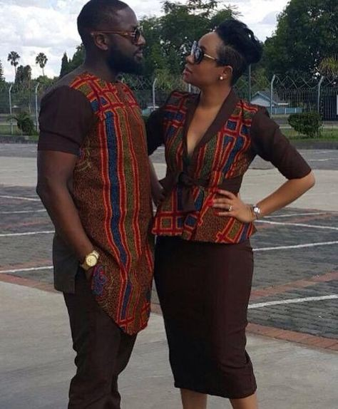 African wear for men and women