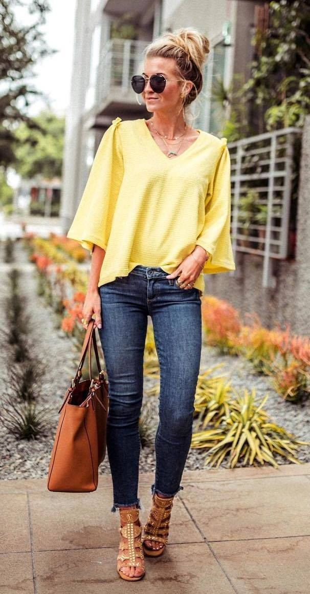 Yellow Dress Outfit Ideas