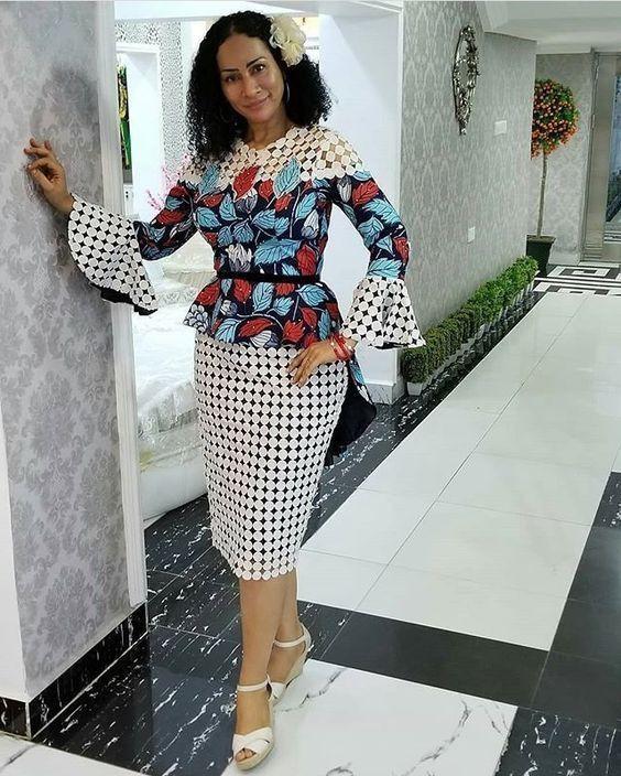 Shweshwe Umembeso Shweshwe Traditional Dresses 2019 on Stylevore