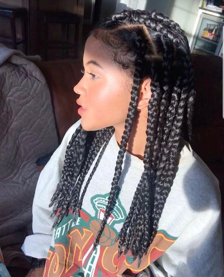 Awe Inspiring Black Girls Box Braids Afro Textured Hair On Stylevore Schematic Wiring Diagrams Phreekkolirunnerswayorg