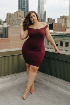 Trendy Plus Size Going Out Dresses