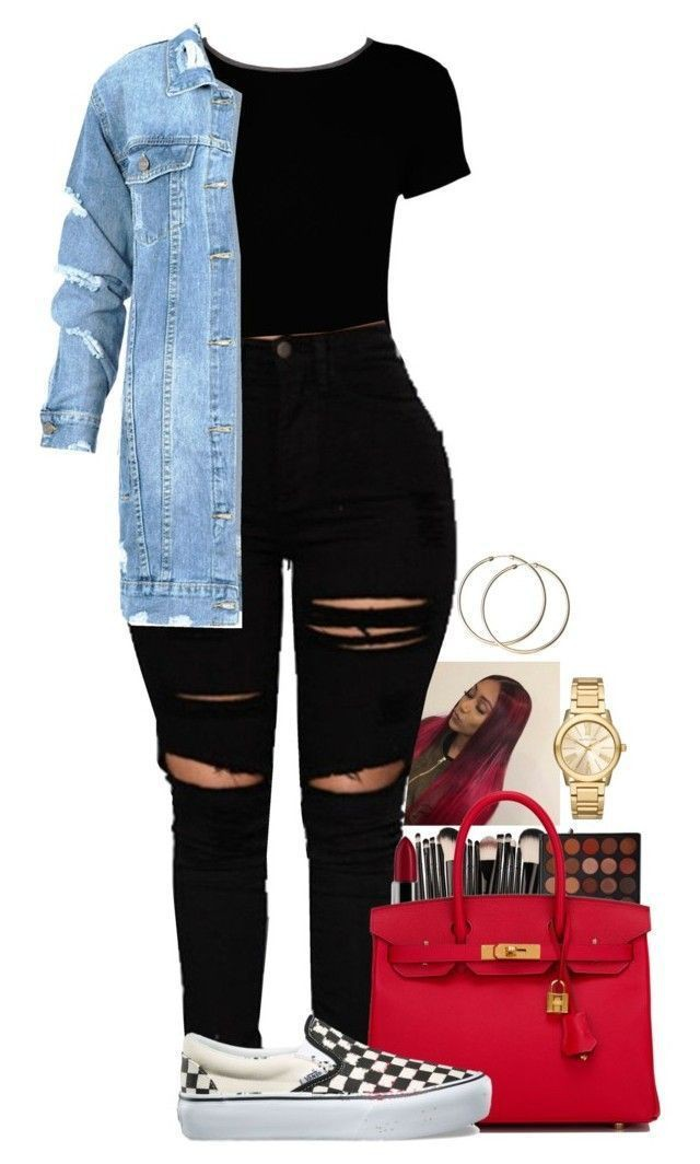 Girl outfits polyvore on Stylevore