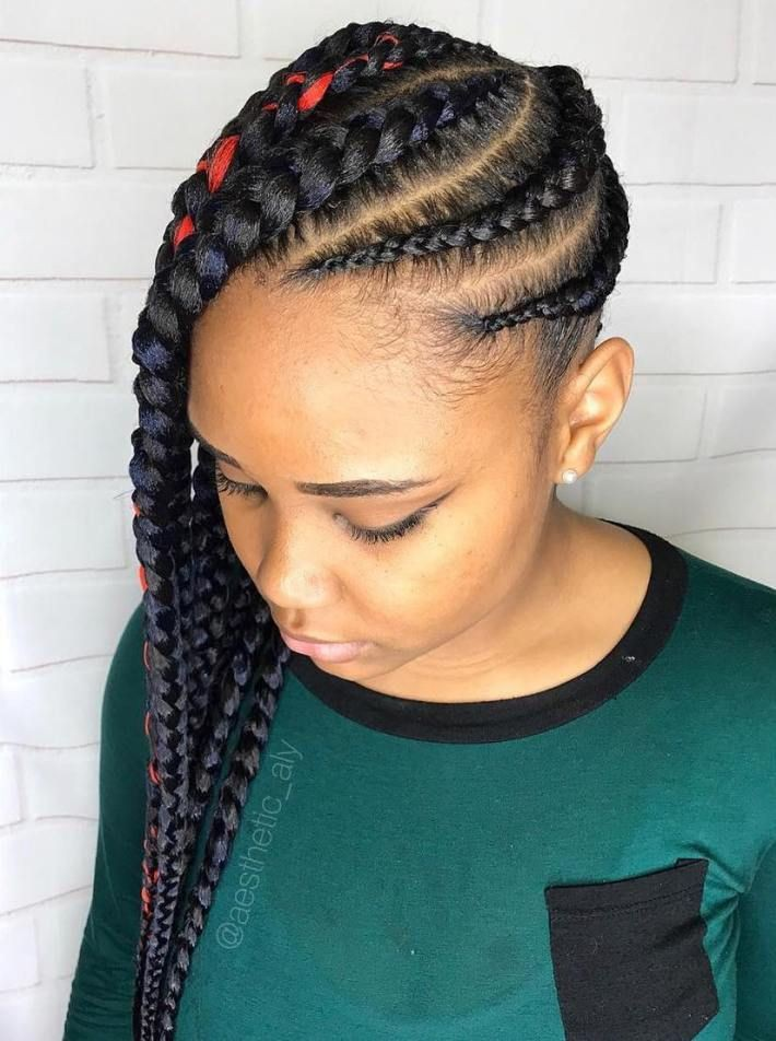 Feed In Braids To The Side For Kids On Stylevore