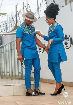 Matching Clothes For African Couples