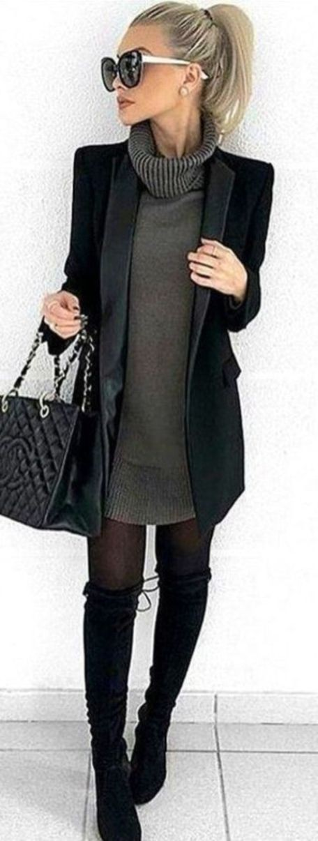 Ladies winter outfits 2019