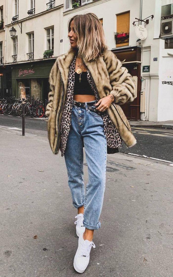 Blazer Jeans,  Animal print