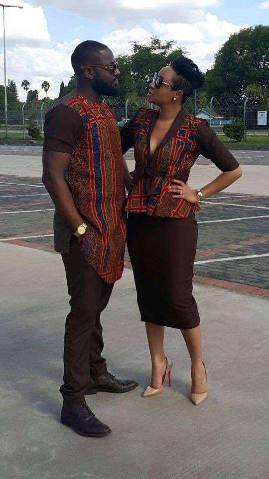 african couple matching outfits on stylevore