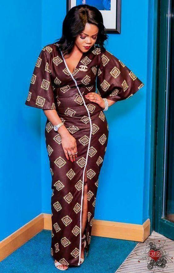 Latest ankara gown