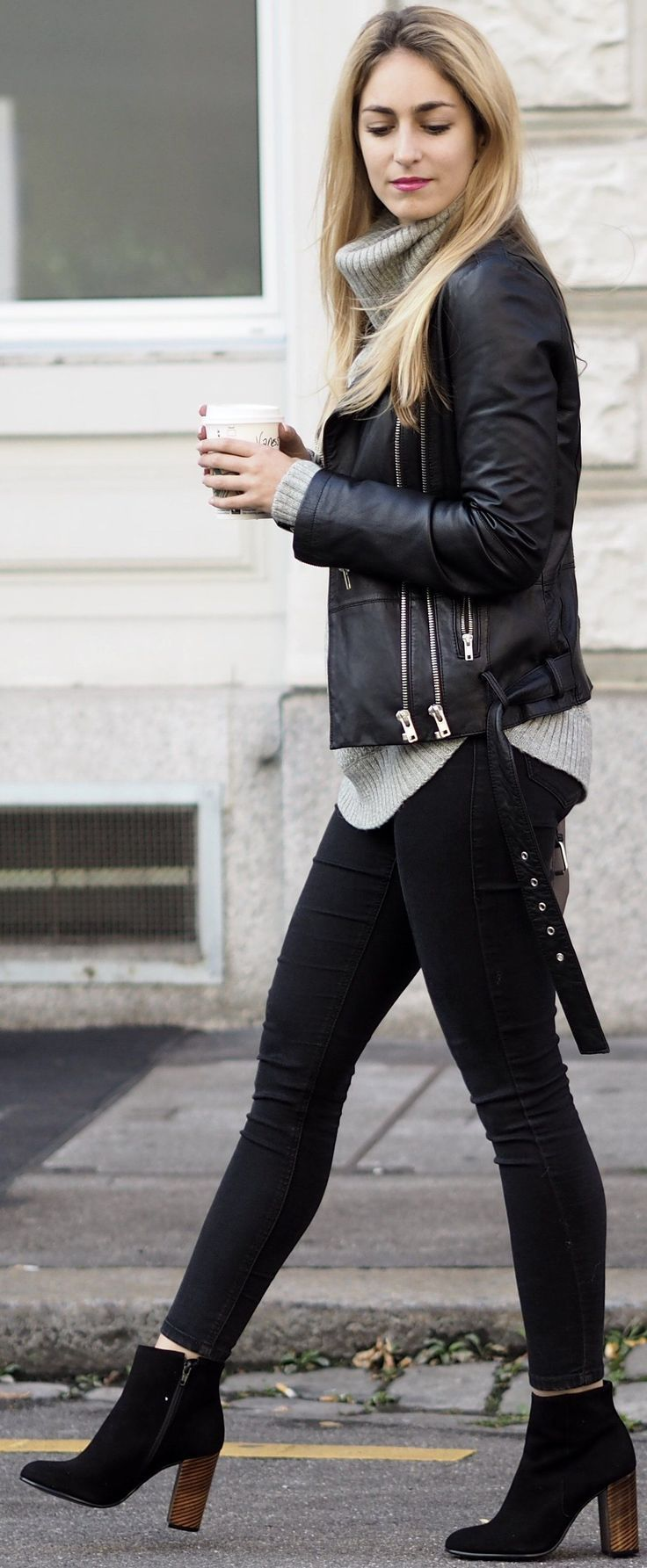 Grey and black outfit ideas