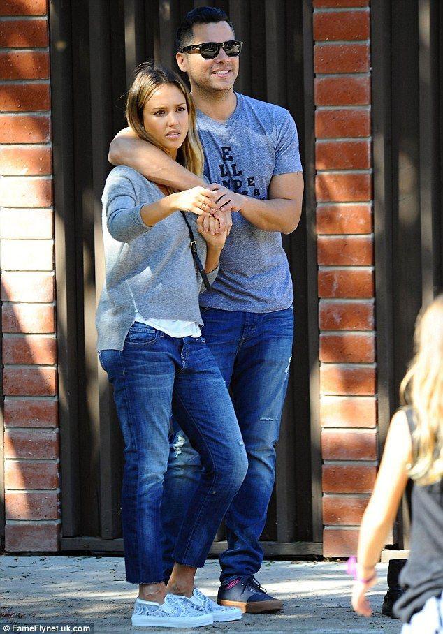 Jessica alba and husband