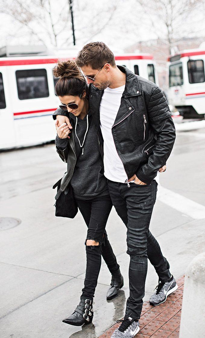Couple style, Fashion blog, Grunge fashion
