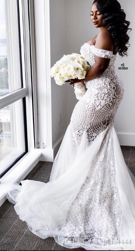 Mermaid Plus Size Wedding Dress On Stylevore