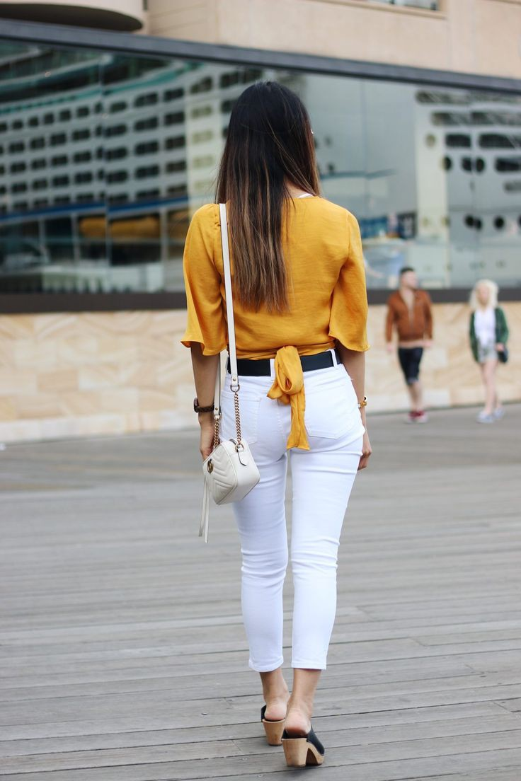 Ways To Style A Golden Yellow Top