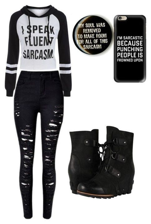 Cute hot topic outfits on Stylevore