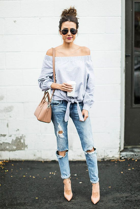 Best outfit, Casual wear, Ripped jeans