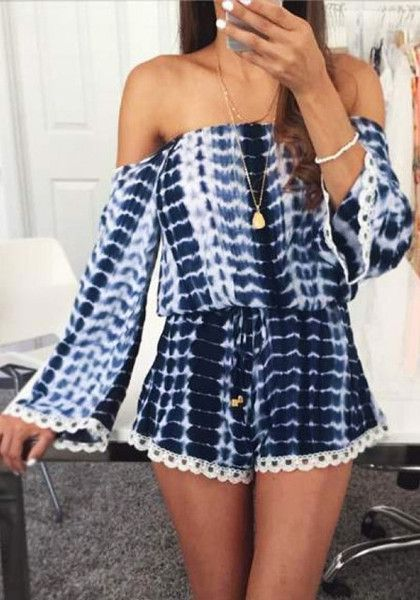 Cute rompers off the shoulder