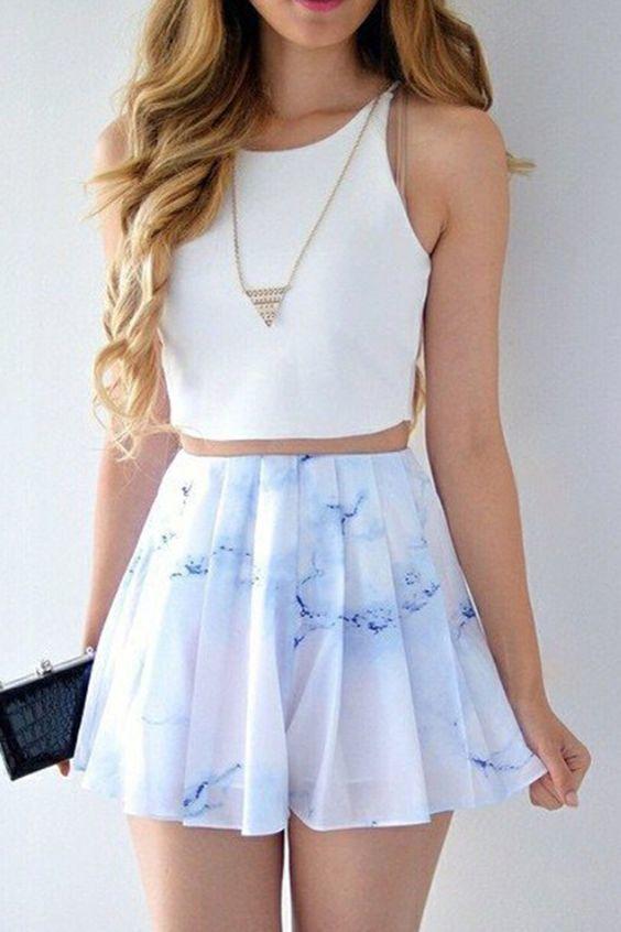 Elegant Skirt Outfits For Girls