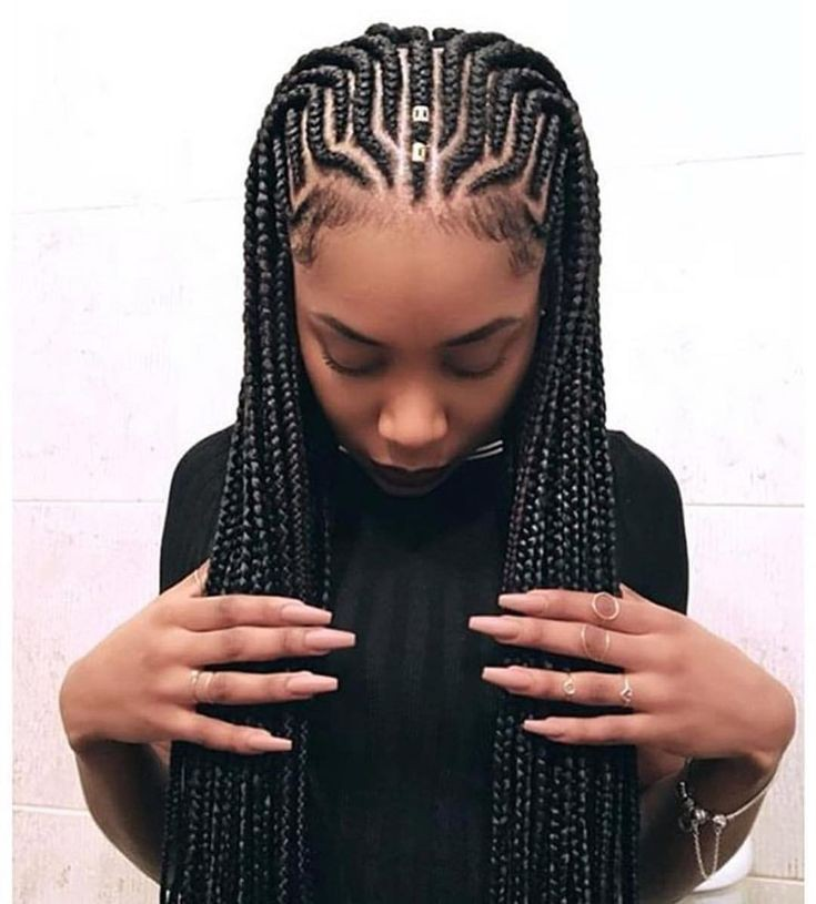 Cornrow hairstyles, African hairstyles, Box braids on Stylevore