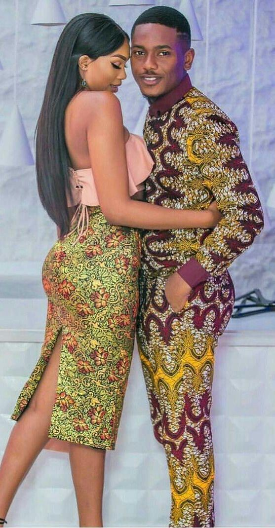 Best Afro Couples Matching Outfits