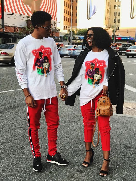 Cool Matching Outfits For Couples!