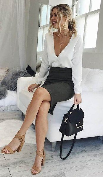 Sexy business clothes for women