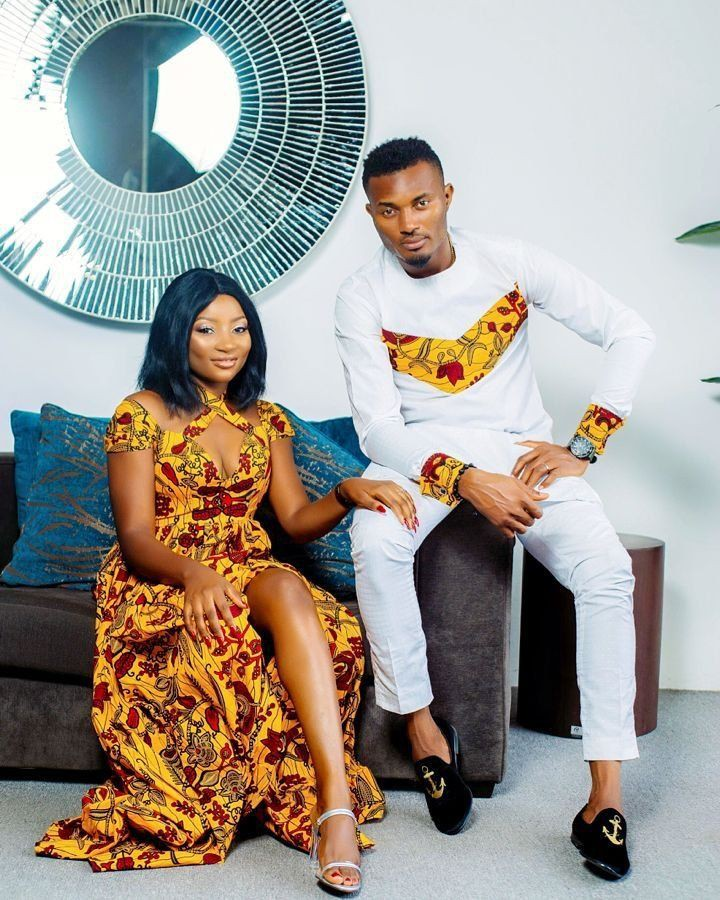 African outfit for couples