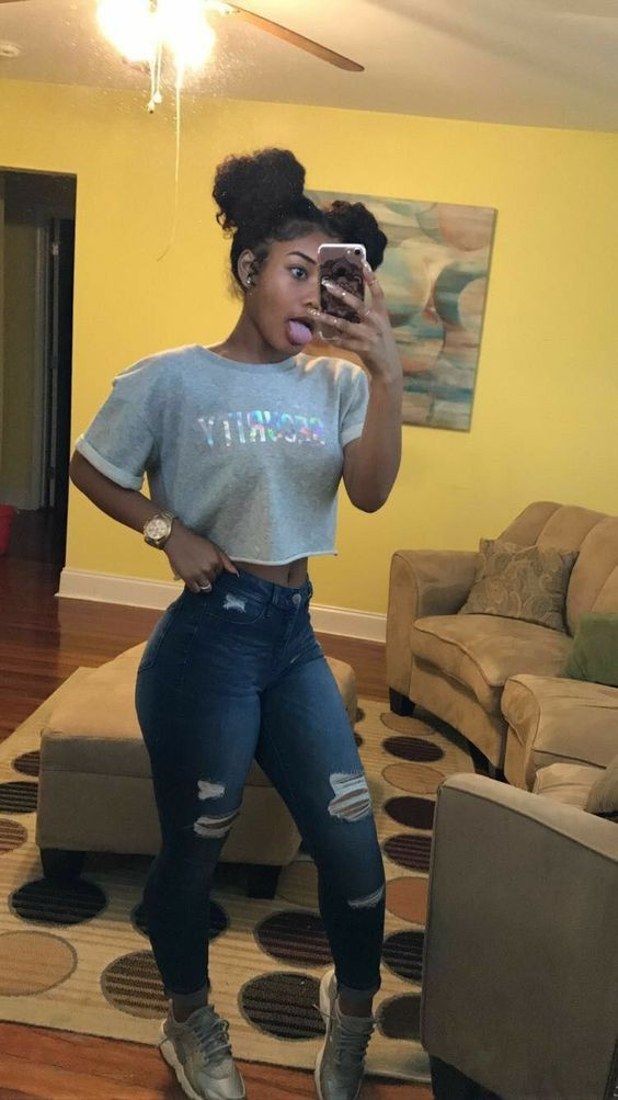 Instagram cute black girl outfits