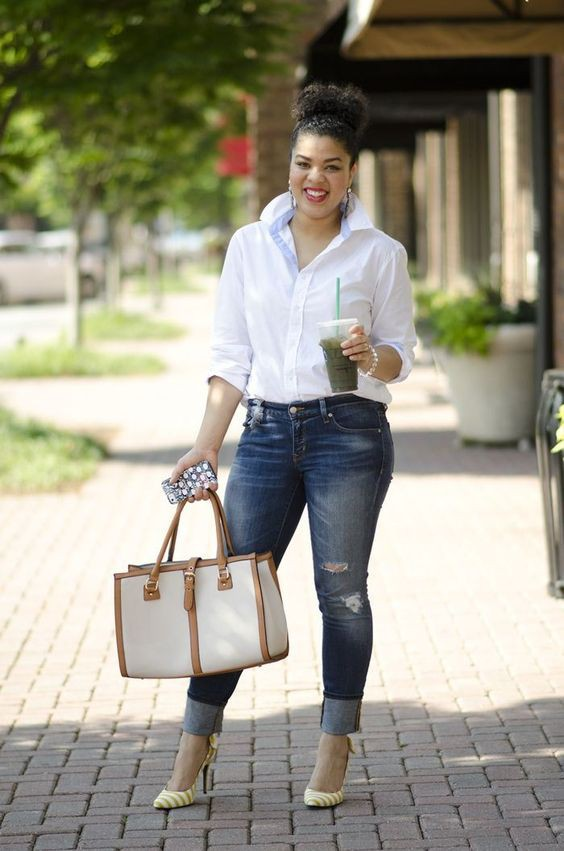 Plus Size Jeans Outfits That Will Turn Heads