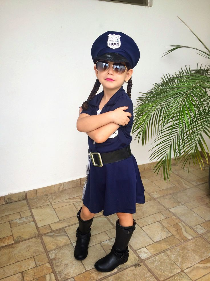 Cute Baby Girl Police Costume Ideas On Stylevore