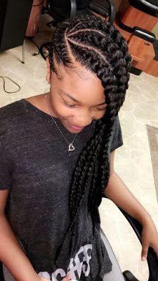 Simple black hair braiding styles
