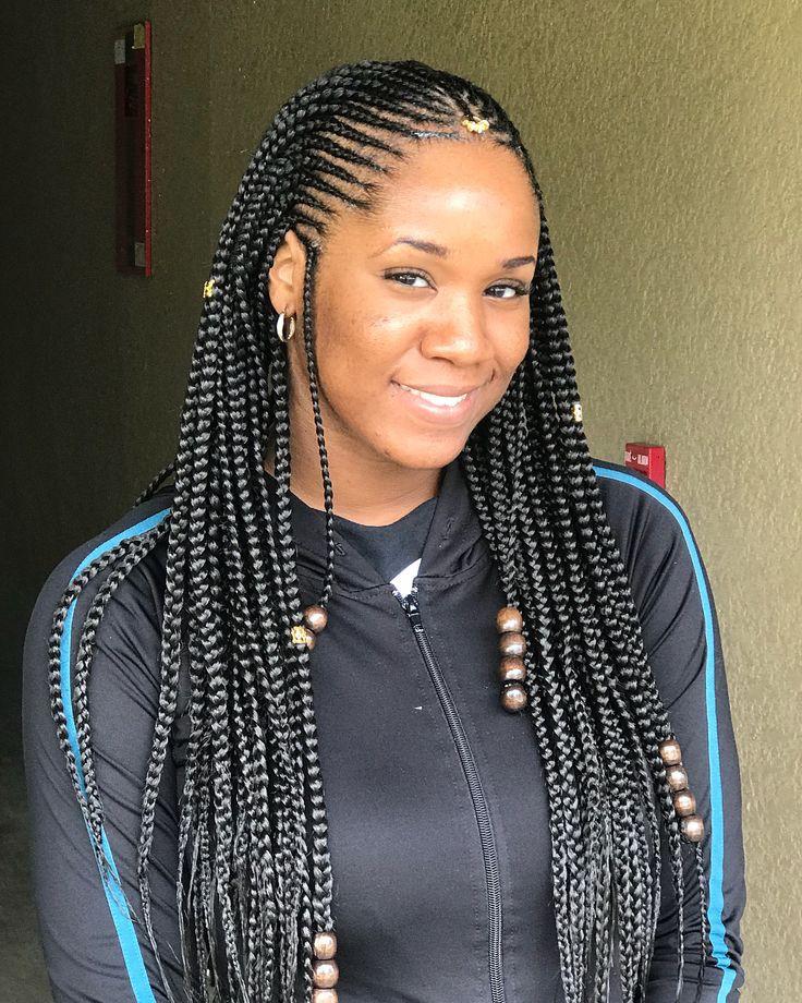 Braids Hairstyles 2019 Box Braids Long Hair On Stylevore