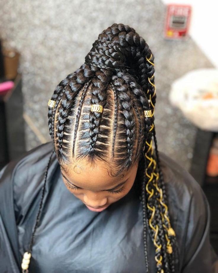 Box braids,  Black hair