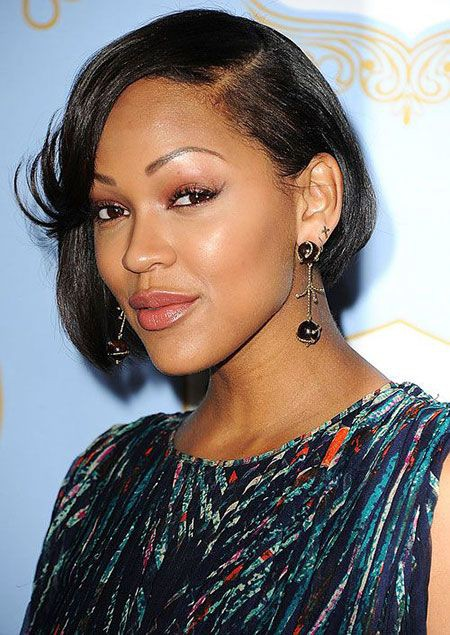 Excellent Meagan Good Bob Hairstyle On Stylevore Natural Hairstyles Runnerswayorg