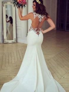 Robes de mariée dentelle pas cher – DreamyDress