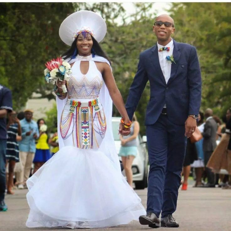 South African Traditional Wedding Dresses On Stylevore