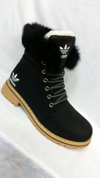 15 Best Fur Adidas Boots images in 2019