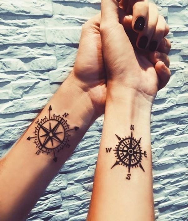 Perfect and daily dose of couple tattoo design, Māori people