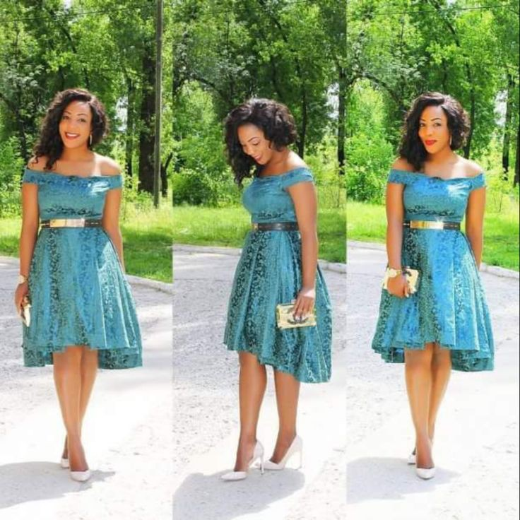 Short African Wedding Dresses For Guests