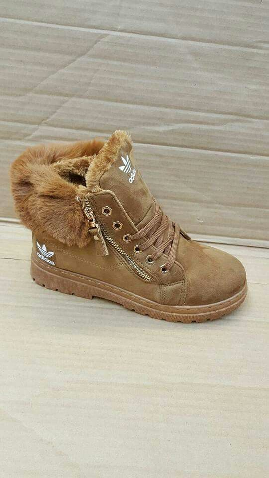 Womens adidas boots with fur | Adidas