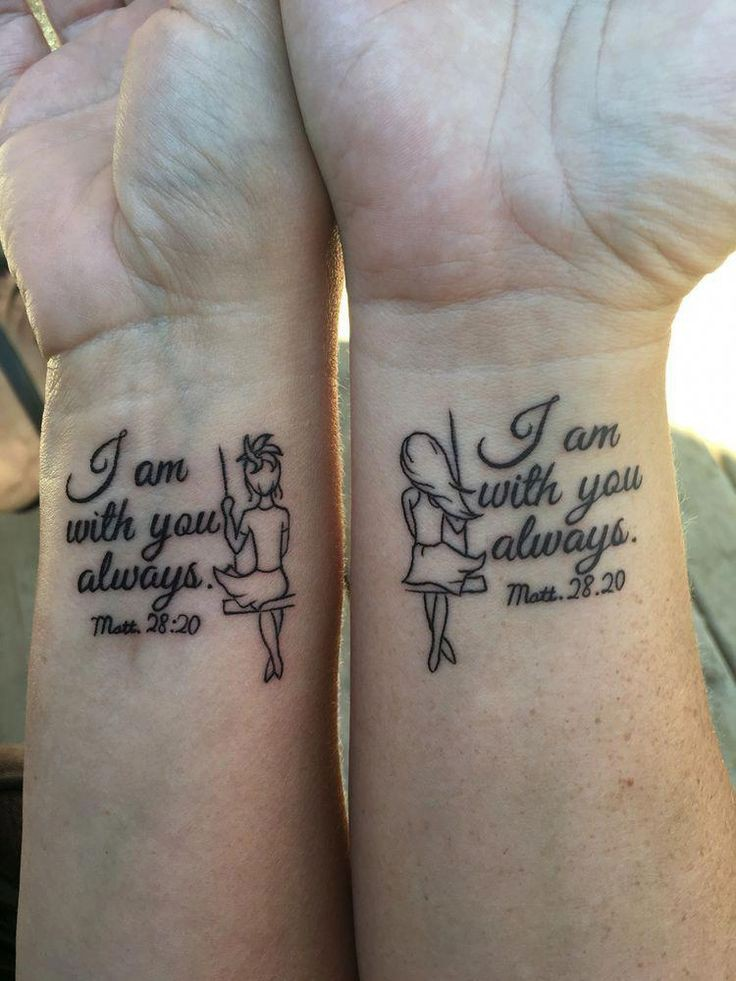Most liked by teens sisters swinging tattoo, Anchors End Tattoo