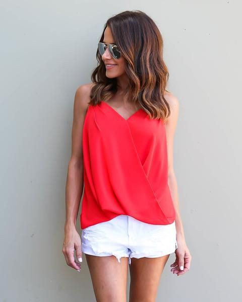 Check these adorable red top dresses.