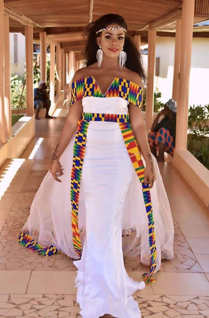 African And Western Wedding Dresses On Stylevore