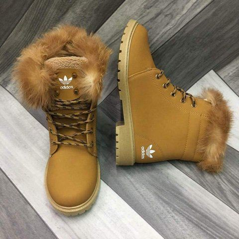 Adidas Winter Boots Women's With Fur on