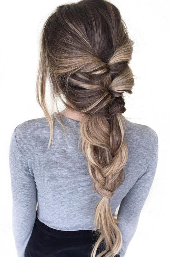 Easy hairstyles for college girls on Stylevore