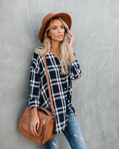 Hot And Trendy Casual Flannel Outfits