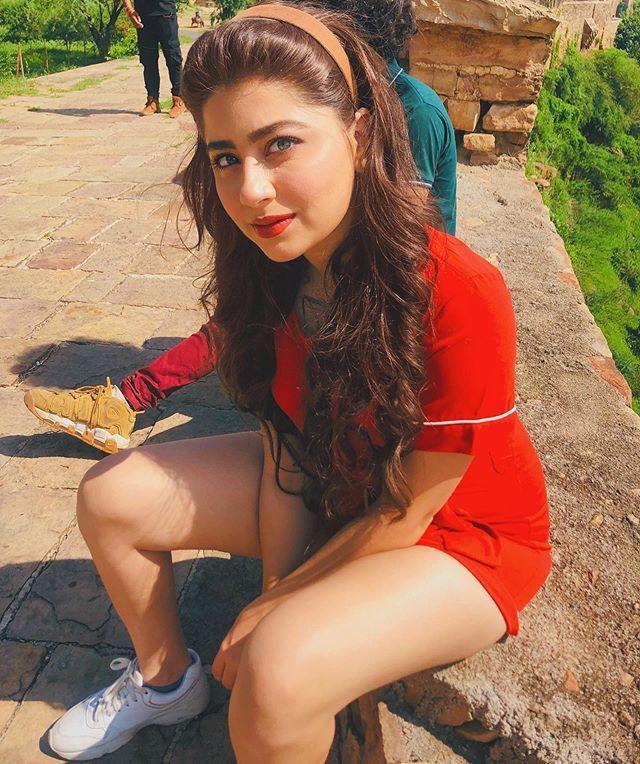 Instagram Red Dress Of Aditi Bhatia