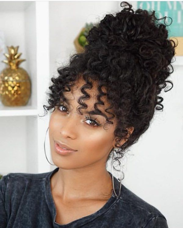 Curly Girl Protective Styles For Natural Hair With Weave On